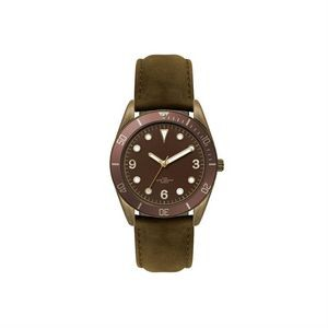 Ladies 22mm metal case Men's 34mm metal case